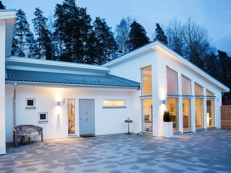 Capella är en öppen och ljus 1-plansvilla från Myresjöhus