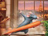 Играть в игру Рататуй в Париже бесплатно на PLAYONLINE. Еще одна достойная несложная онлайн игра, представляющая из себя занимательный пазл из небольшого числа элементов. Нажимая на кнопку возле игрового экрана, берите полученный элемент и ставьте его на подходящее место на изображении.