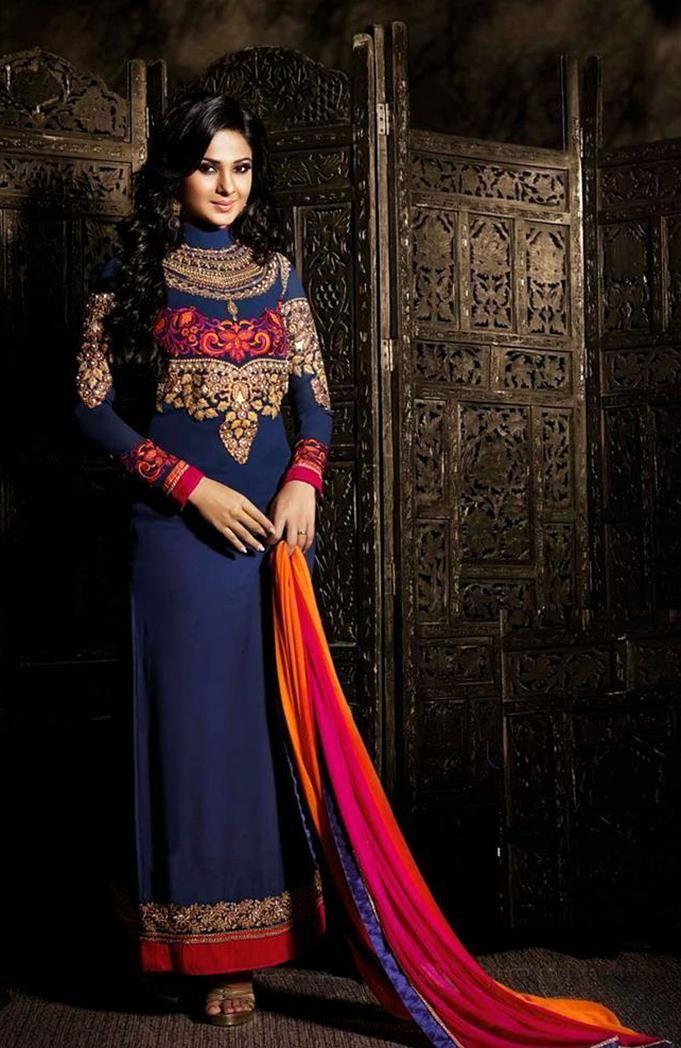 Charming Jennifer Winget Designer Salwar Kameez 84 Bollywood Dress Indian Clothes Online Indian Outfits