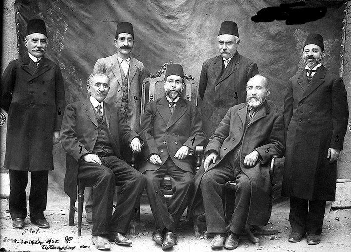 Elazığ, Harput Ermeni Yardım Kuruluşu Üyeleri, 1911