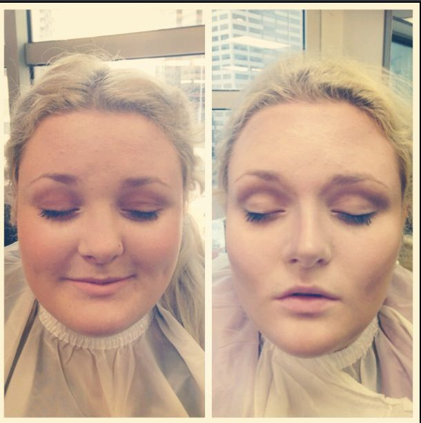 The amazing effects of contouring