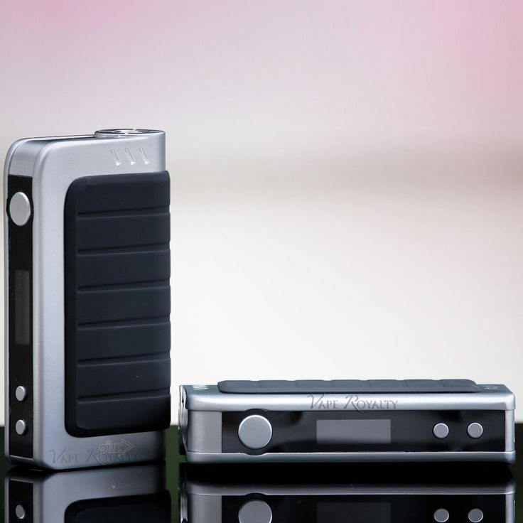 Silver IPV4 Mods are in stock! These are the newest version IPV4's now updated with a black screen to eliminate the glare!   In stock and available at - www.VapeRoyalty.com