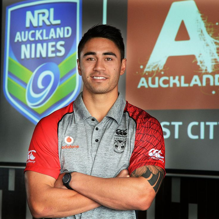 The Vodafone Warriors were at Eden Park last week for the launch of the NRL Auckland Nines