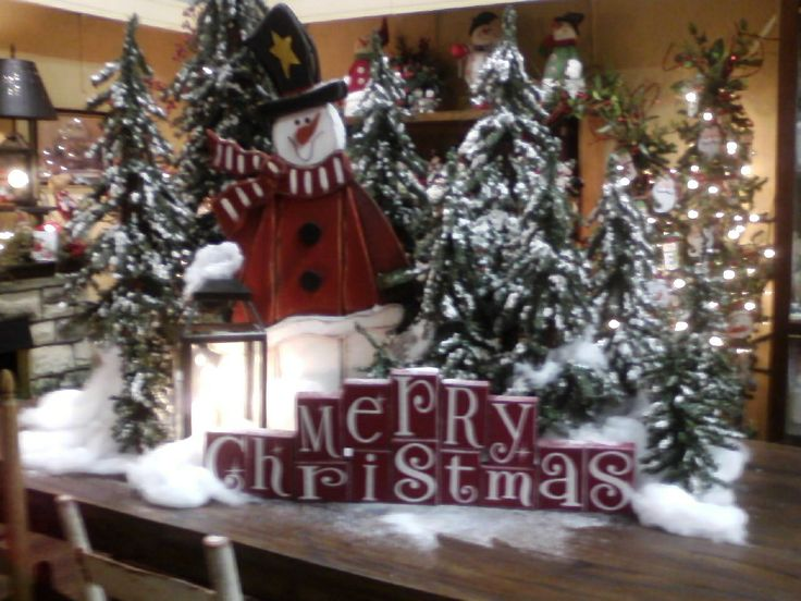 Christmas 2013 Mountain Star Mall Store Displays