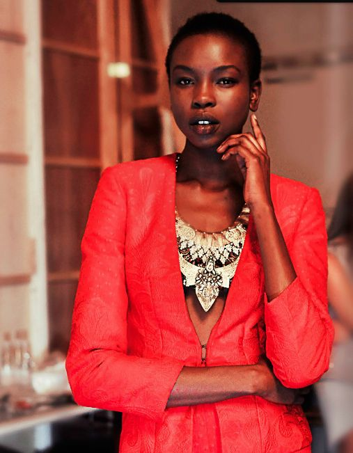 Stunning styling, pieces and model.
