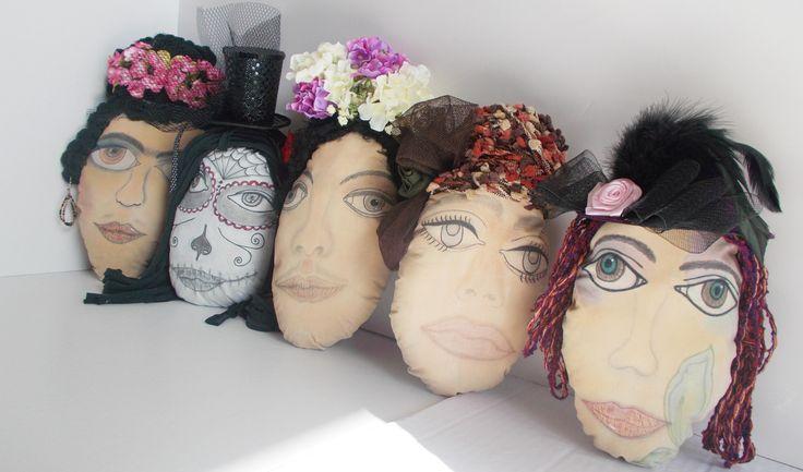 portraits, handmade by mademeathens #portraits #workinprogress