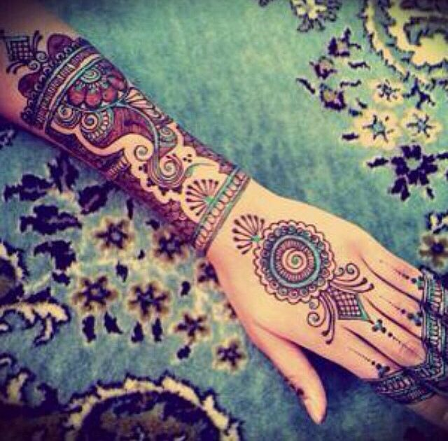 Beautifully designed, bohemian half sleeve tattoo.   Ʈaȶȶ ...