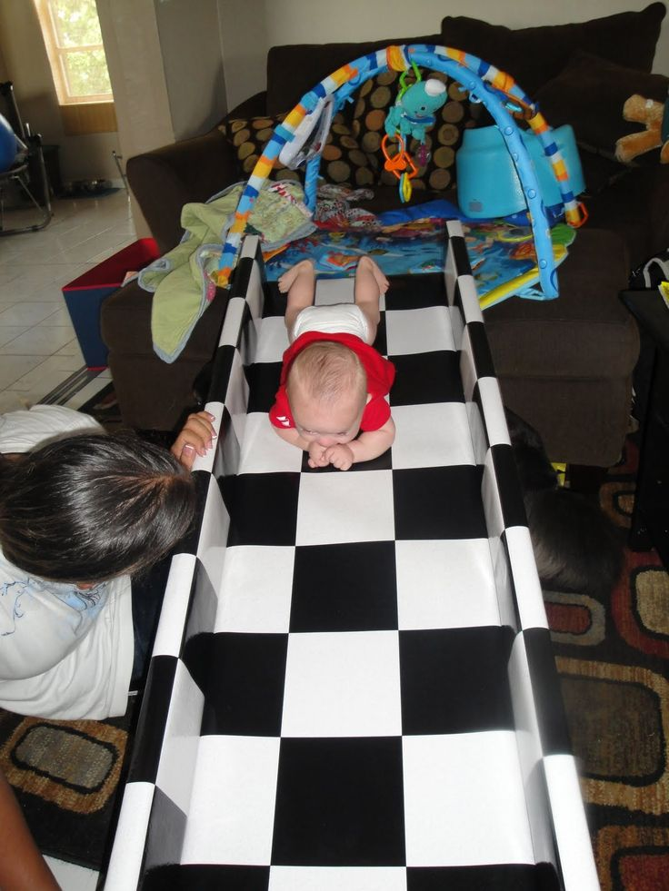 Home Made Doman Baby Crawling Track Newborn Learning