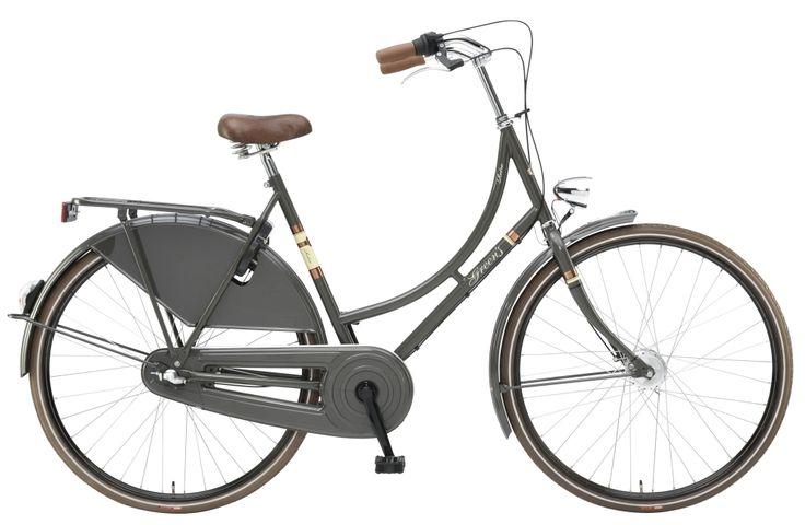 #Greens #Retro in #grey #Classics #Nostalgie #Hollandrad für #Damen. Erfahrt mehr unter www.greens-bikes.de