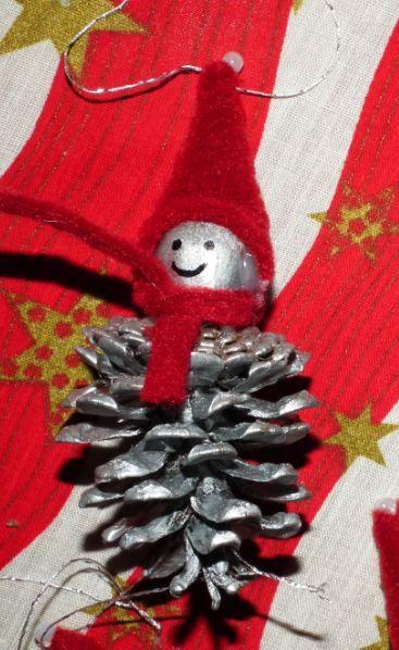 Karácsonyi toboz manó