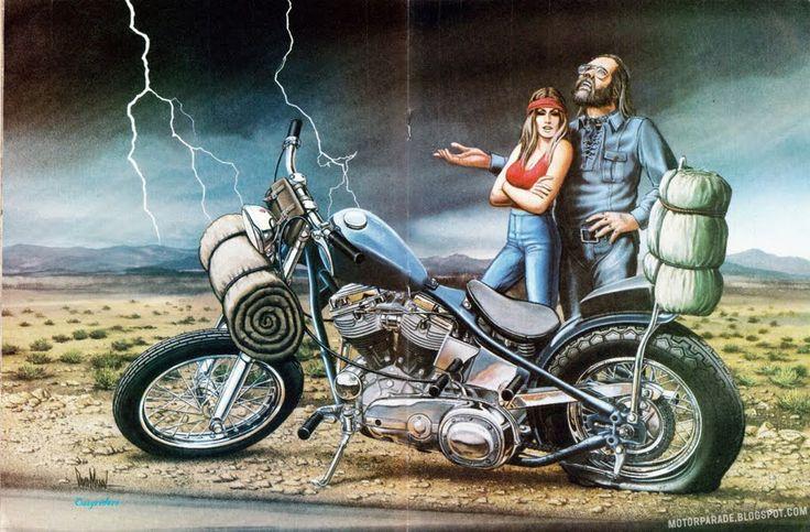 david mann art | Racing Cafè: Motorcycle Art - David Mann