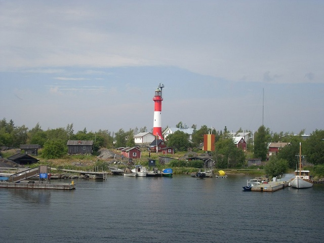 Tankar Island, a beautiful little island off the coast of Kokkola.  Take the M/S Jenny to get there.  The salmon soup they serve on the island is very yummy.
