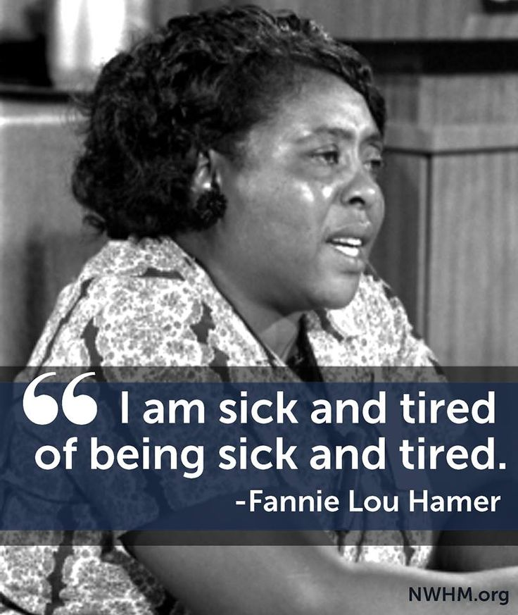 Civil rights leader Fannie Lou Hamer was a leader in organizing Mississippi…