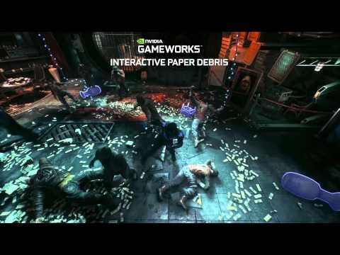 Batman: Arkham Knight Trailer Highlights the Incredible Effects of NVIDIA GameWorks | The Koalition
