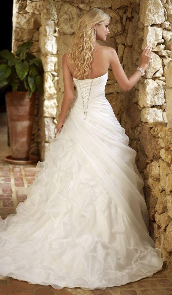 Wedding dress idea if I get a corset back