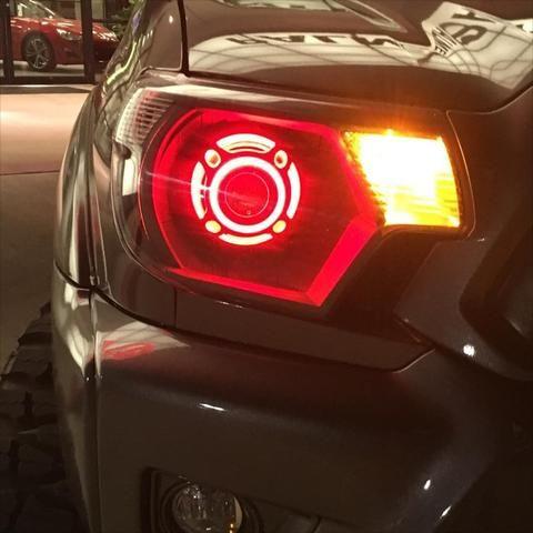 2012-2015 Toyota Tacoma Retrofitted Headlights - American Retrofits