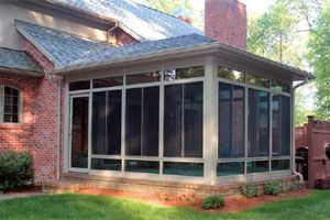 enclosed screen porch ideas with doors | ... Enclosed Patios http://www.americanhomedesign.com/patio-enclosures