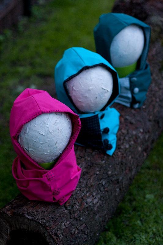 Waterproof scoodie. (scarf+hood)