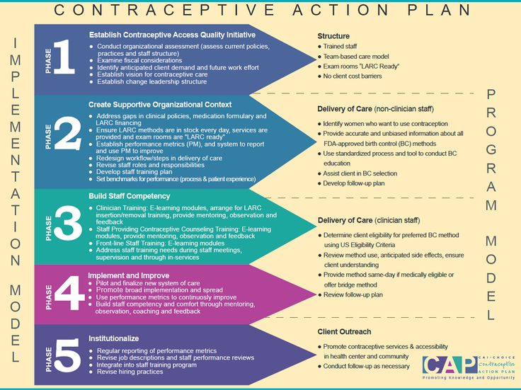 Implementing Cap Contraceptive Action Plan Teen