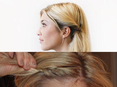 5 Einfache Frisuren Um Fettiges Haar Zu Verstecken