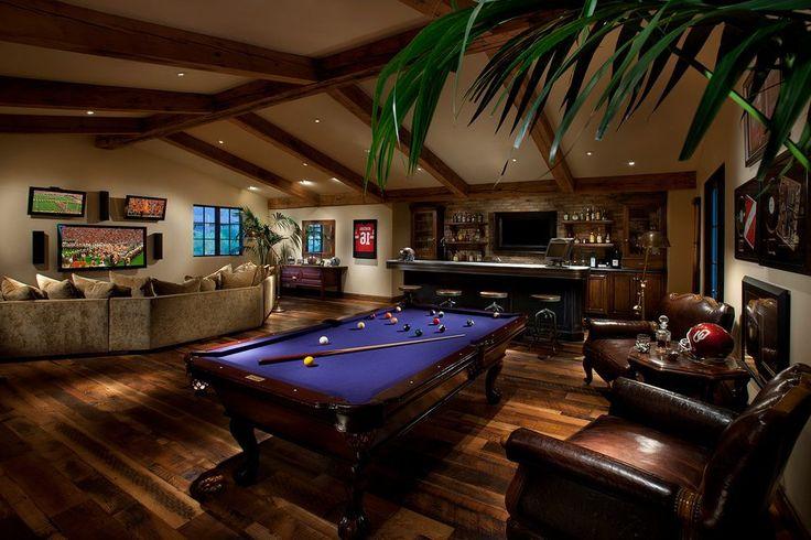 Man Cave Bar Detroit : Best home decor pool table room images on pinterest