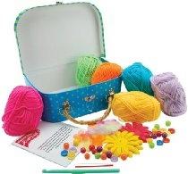 Flower Crochet Jewelry Kit- SKU-PAS664145