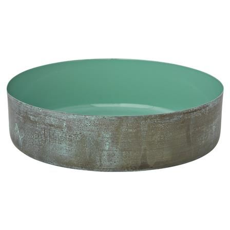 Lacquer Platter with Tuquoise Centre