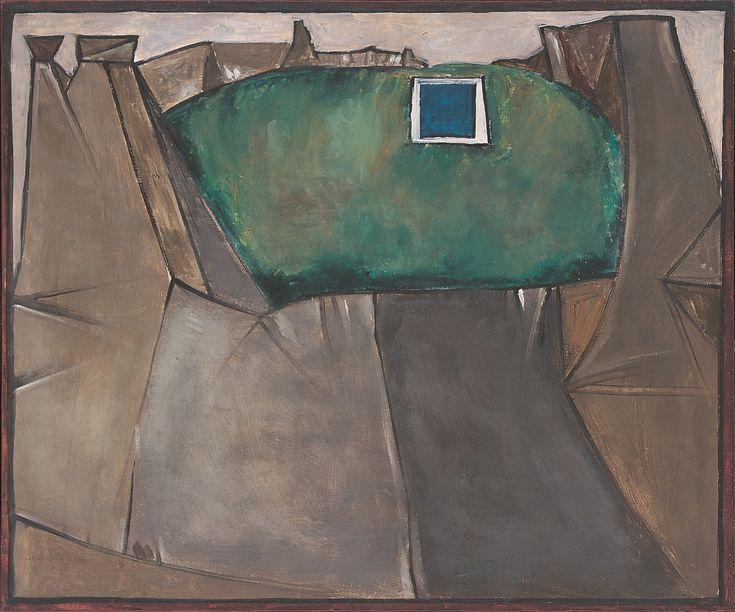 Plate 4. Jerzy Nowosielski. Mountainous Landscape, 1955. Oil on canvas. 25 ½ x 30 ¾ inches.