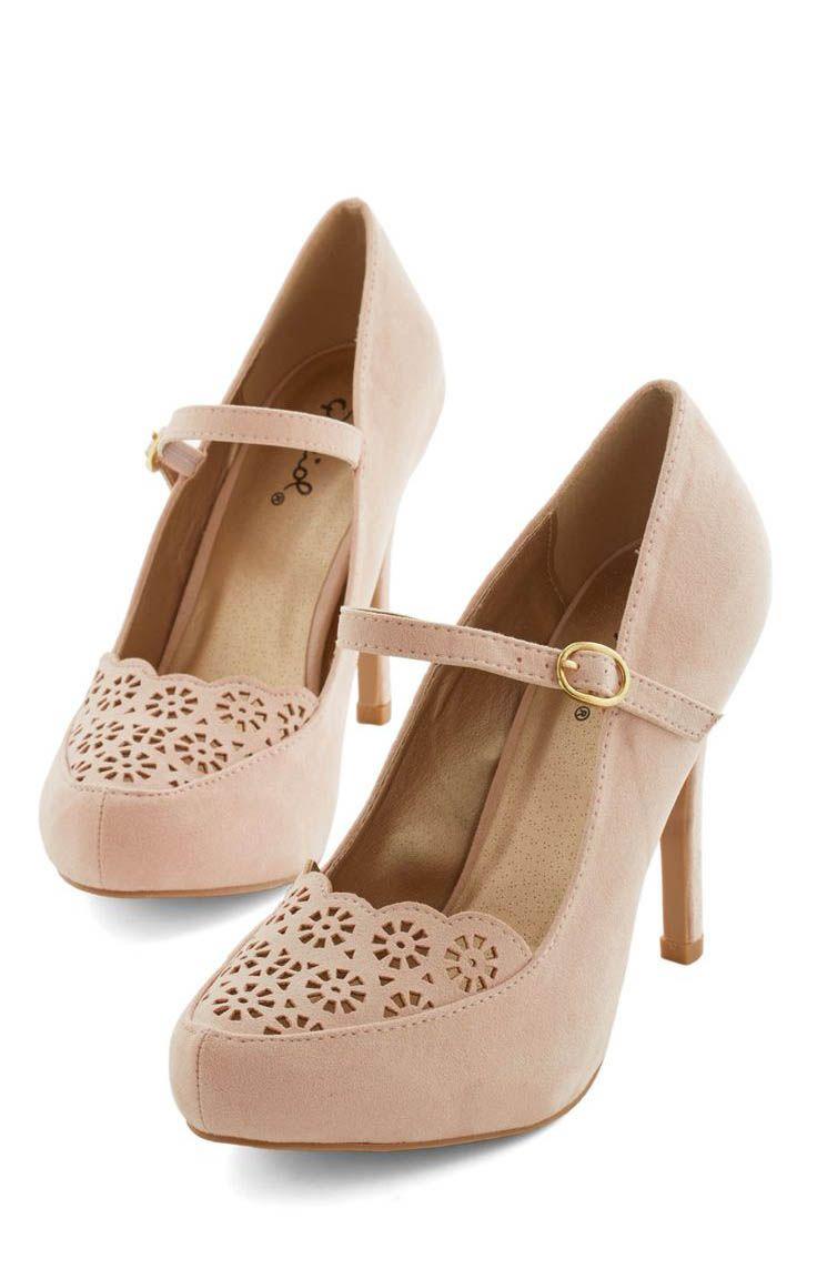 Pink Vintage Heels