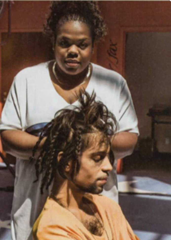 This Friday, Enjoy a Picture of Prince Getting His Hair Braided | Black Girl with Long Hair