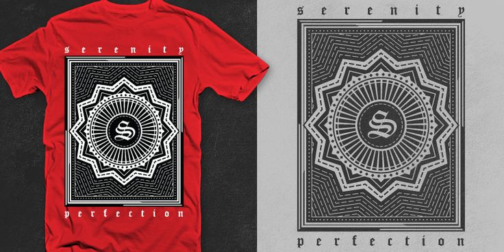 """Serenity"" t-shirt design by jipanji"