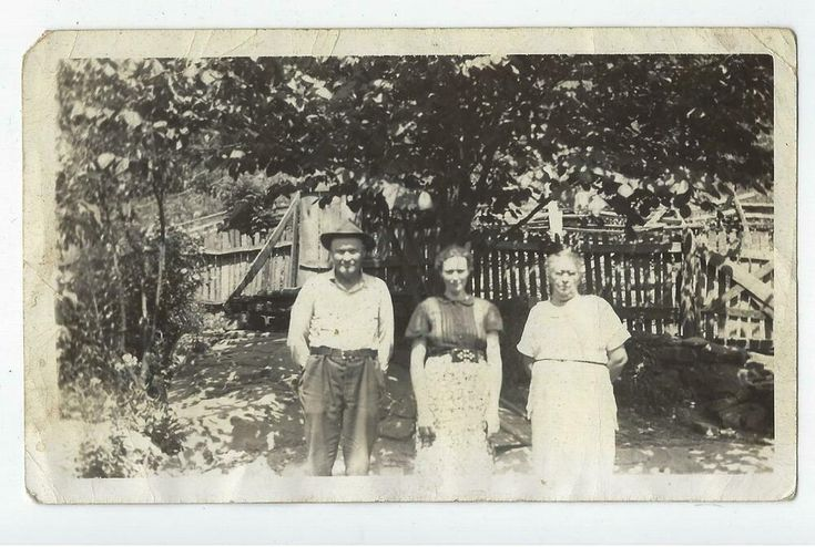 Details about 1941 photo smith family ky
