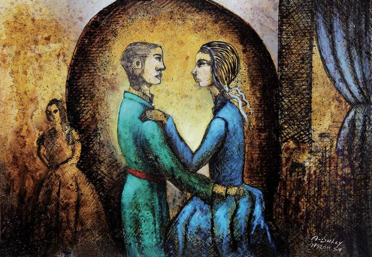 Madame Bovary en el baile - Angelo Dulay