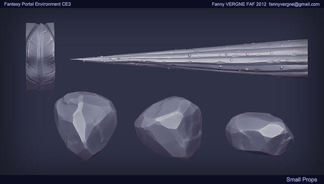 Fanny Vergne Art: Fantasy Portal Env