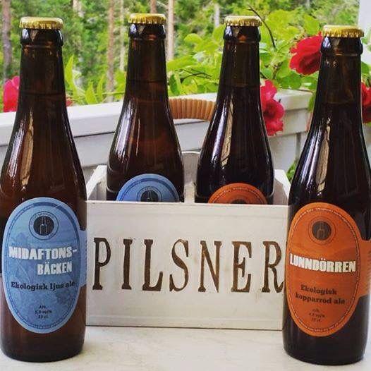 Local micro brewey Ottsjö Brygghus