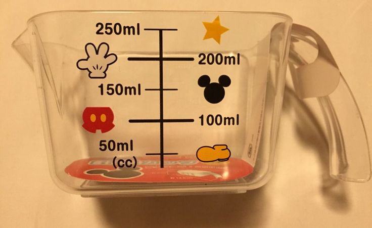 Tokyo Disney Mickey Mouse Kitchen Measuring Cup-made in Japan in Home & Garden, Kitchen, Dining & Bar, Kitchen Tools & Gadgets | eBay