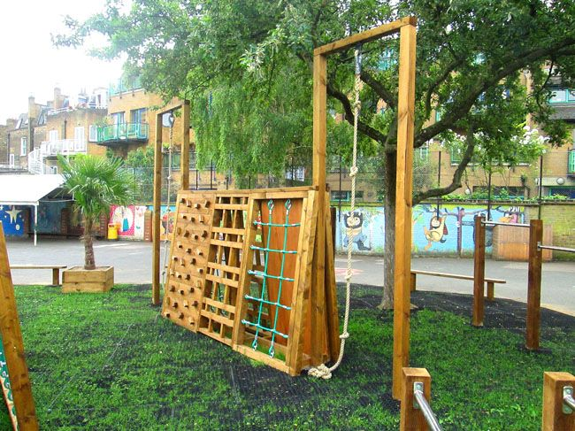 Ordinaire Camden Primary School Playground Installation And Build Featuring Trim  Trail Activity Features For The Under