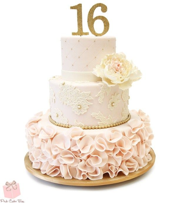 27 Elegant Image Of Birthday Cake Toppers Michaels Birijus Com Pink Sweet 16 Sweet 16 Cakes Pink Velvet Cakes