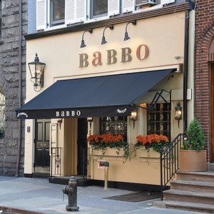 BABBO   We love Mario Batali's terrific restaurant in an antique carriage house. No hype, just great food!   GREENWICH VILLAGE, NY
