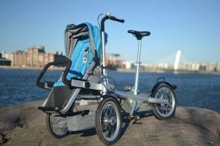 Strolla. The Finnish version of Taga bike stroller.