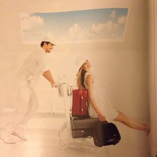 Rimowa advert Sunday Times Style July 2012