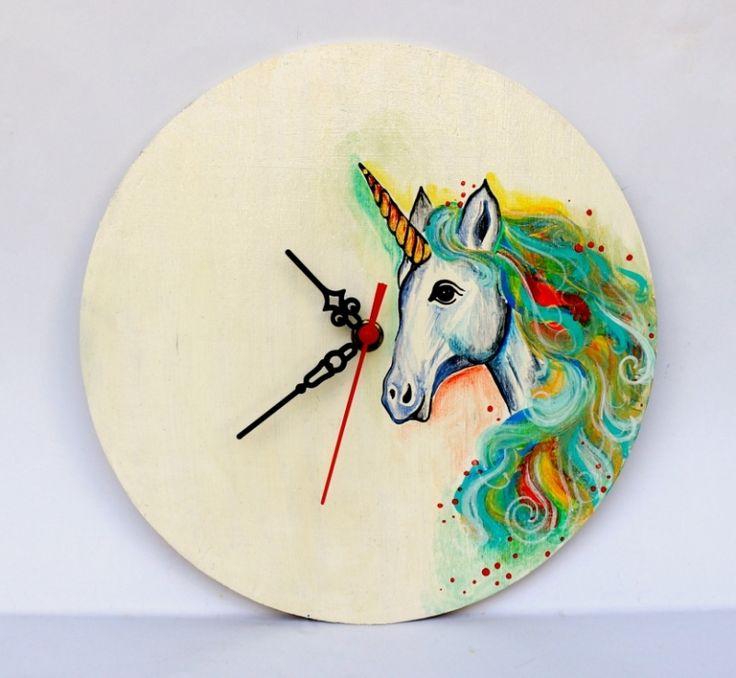 "Ceas+perete+""Unicorn"""