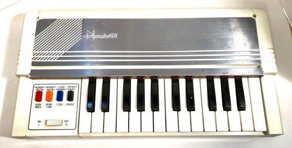 Vintage Portable Music Air Organ Battery Powered Etsy Vintage Toys Portable Music Nostalgic Toys