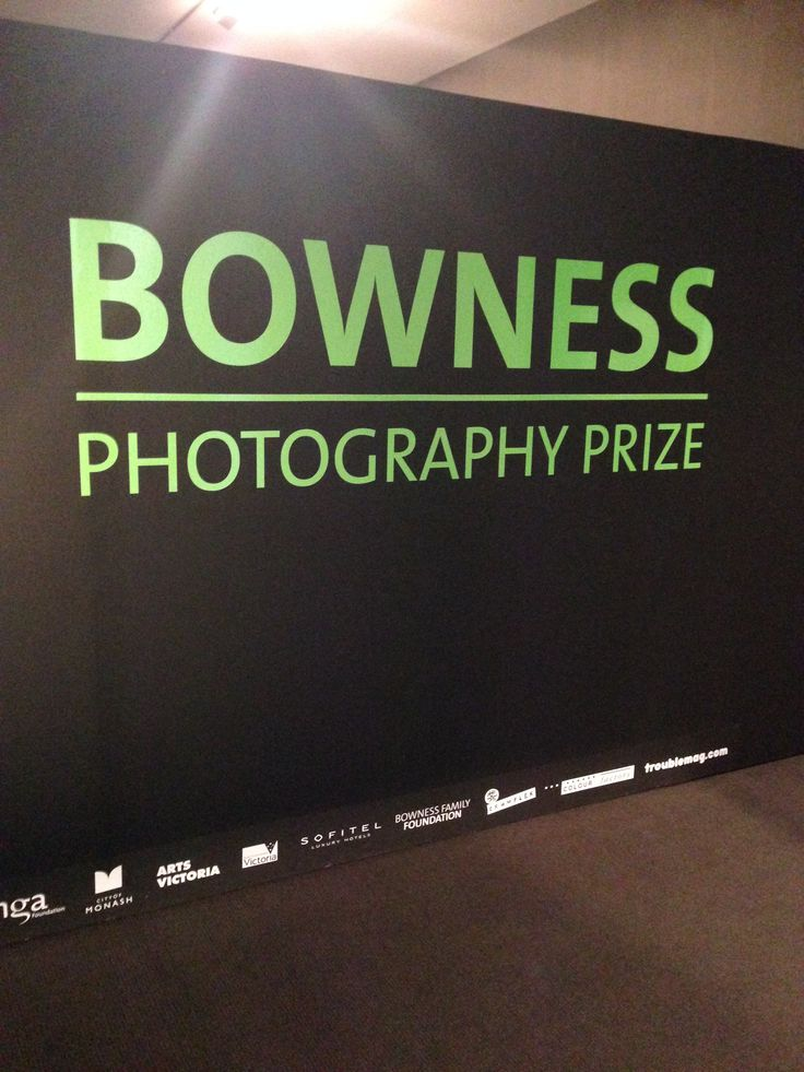 Bowness Prize Exhibition MGA 2014 Entrance to the exhibition, Sponsors