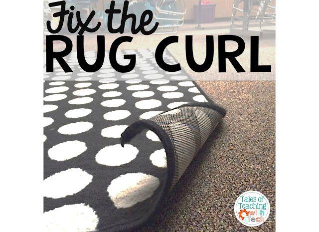 Teacher Hack, rug curl, classroom rug, classroom carpet, IKEA carpet, IKEA rug