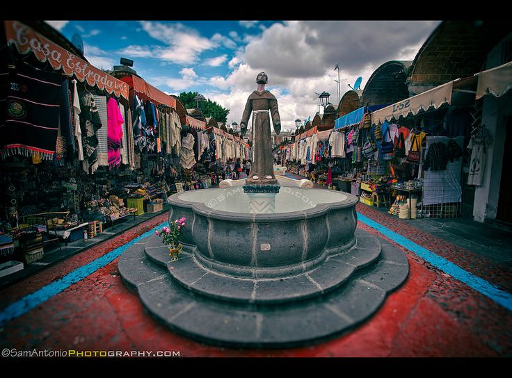 "Heavenly shopping at the Mercado de Artesanias (""El Parian"") in Puebla, Mexico. © www.SamAntonio.com #travel #photography #mexico #shopping #gifts #crafts #canon"