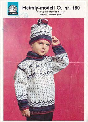 Barnegenser O. nr. 180 - Svanedal
