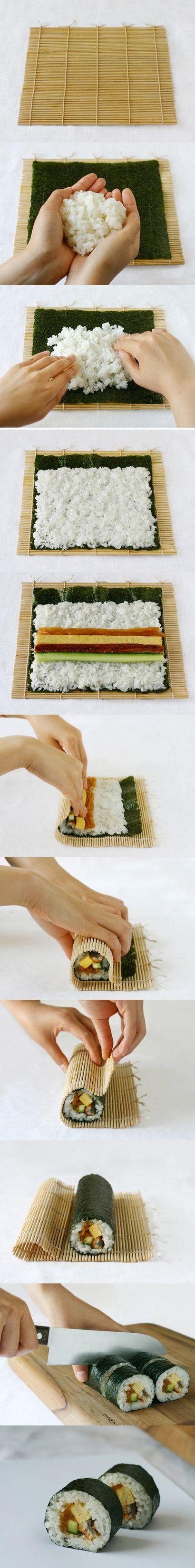 DIY - How to make sushi rolls
