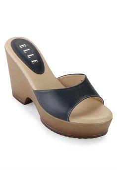 Wanita > Sepatu > Wedges > Sandal Wedges > El 12008 > Elle Shoes