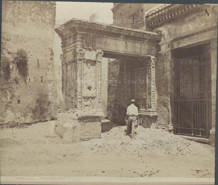 Arco degli Argentari Anno: 1885